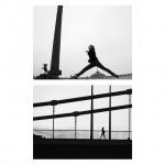 """Photosequence #48"", series ""Estudos superficiais"", 2013, digital photography B&W, 60x60 cm"
