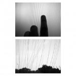 """Photosequence #49"", series ""Estudos superficiais"", 2013, digital photography B&W, 60x60 cm"