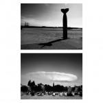"""Photosequence #93"", series ""Estudos superficiais"", 2013, digital photography B&W, 60x60 cm"