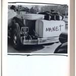 """Manet"", from the series ""The Great Art History"", 2005-2013, ink on book, 608 pages, 26x18 cm"