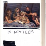 """The Beatles"", from the series ""The Great Art History"", 2005-2013, ink on book, 608 pages, 26x18 cm"