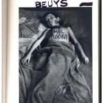 """Beuys"", from the series ""The Great Art History"", 2005-2013, ink on book, 608 pages, 26x18 cm"
