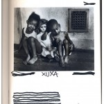 """Xuxa"", from the series ""The Great Art History"", 2005-2013, ink on book, 608 pages, 26x18 cm"
