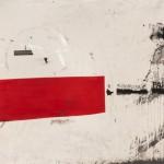 """""""A rigorosa paisagem"""", 2013, acrylic and varnish on canvas, 200 x 474 cm"""