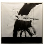 """Linear captura pictórico"", from the series ""Repressionismos"", 2012, charcoal, nankin and graphite on canvas 212x212 cm"