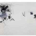 """Untitled, from the series """",  """"Não há instruções exatas para a localização do paraíso"""", 2010, mixed technique on canvas, 212x400cm, Collection of Museum of Contemporary Art of Niteroi, Rio de Janeiro"""