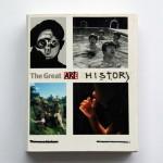 """""""O Fantástico e Inabitável Mundo da Historia da Arte"""", 2005-2013, paint on book, 608 pages, 26 x 18 cm"""
