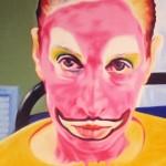"""""""Curso""""[""""Courses""""], 2010, oil on canvas, 170x130cm"""