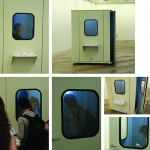 """""""Assonâncias de silêncios [sala de escuta]"""", 2008-2010, details of the installation"""