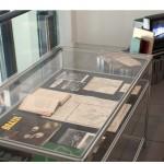 """""""Remediation"""", 2010-under development, Installation view """"Mythologies"""" exhibition, Cite des Arts, Paris, 2011, various materials, variable dimensions"""