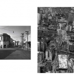 """""""The Life of the Centers"""", 2011-2013, Inkjet print on cotton paper mounted on dibond/aluminum, installation with 35 to 42 images, 35 x 42 cm (each), full length: 9 linear meters, Edition of 7 + 1 AP"""