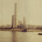 """""""The Golden Tower"""", 2012, photograph from Super8 reversal film"""