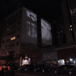 """Aphasia"", 2011, video-installation (projection) 4"", photo: Virginia de Medeiros"