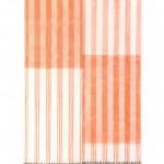 """Bandeira"", 2015, object, signaling screen, samba bells, acrylic, 172 x 95 cm"