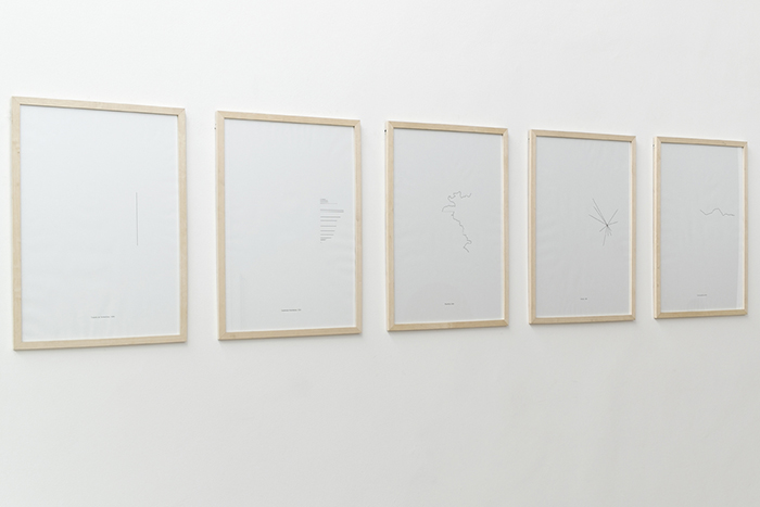 """Line"", 2013, sikscreen on paper"