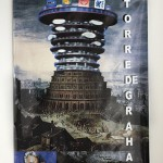 "From the series ""Sete Pecados"", 2014, ""Torre de Babel"", banner, 100x80cm, photo by Ayrson Heráclito"