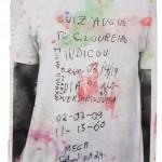 """""""Ueinzz Mix # 137 (camiseta)"""", 2015, acrylic on paper, 21 x 30 cm"""