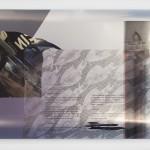 """""""Faggot for faggot"""", 2014, inkjet print on metallic paper, 60.96 x 83.82 cm"""