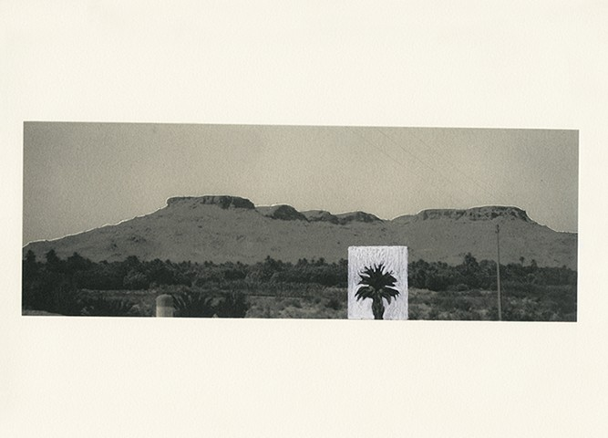 'Somewhere in the Atlas', 2013-2015, Manipulated Photographs from Archive, 30x22,5 cm.