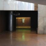 'Arma Branca', 2011, video projection, audio, 18' (loop), Exhibition view, Museu de Arte da Pampulha, Belo Horizonte, 2011. Photo: Rodrigo Cass