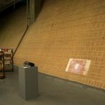 Civiltà Americana, 2012, video projection, audio, 8'53'' (loop), exhibition view, Centro Cultural São Paulo, 2013. Photo: Eduardo Ortega  Courtesy Galeria Fortes Vilaça