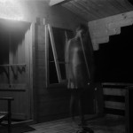 'Cabin', 2003-2014, photographic record of performance, variable dimensions.