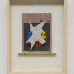 'Formal Manifesto', 2014, concrete, glass, book and wood on paper, 36 x 47 x 9 cm. Photo: Eduardo Ortega   Courtesy Galeria Fortes Vilaça