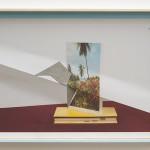 'Local Marginal', 2015, photograph, tempera, concrete, wood and steel nails, 86 x 123 cm. Photo: Eduardo Ortega   Courtesy Galeria Fortes Vilaça
