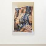"""Thermophilic"", 2015, inkjet print on metallic paper, aluminum, 167.64 x 111.76 cm"