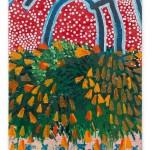 Untitled, 2015, acrylic on wood, 65 x 45 cm