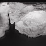 ''Geography (Landscape with waves)'', 2011, video and sound landscape. These works are part of the project ''Treaty of Limits'', presented at 8th Mercosul Biennial, 2011.