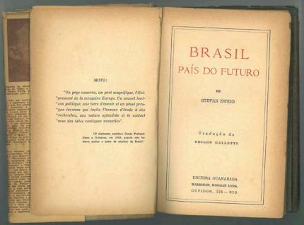 Brasil, país do futuro: um livro sobre o livro