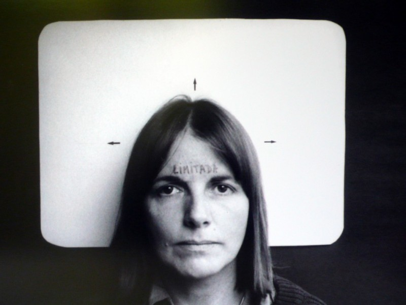 Marie Orensanz (Argentinean, b. 1936),, Limitada (Limited), 1978 Photograph, edition 1/ 5. 13 3/4 × 19 11/16 in. (35 × 50 cm). ©Marie Orensanz.
