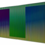 Carlos Cruz-Diez, Physichromie Panam 219, 2015, 150 x 300 cm