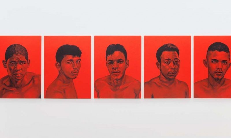 "Éder Oliveira, ""Red Pages"", 2015"
